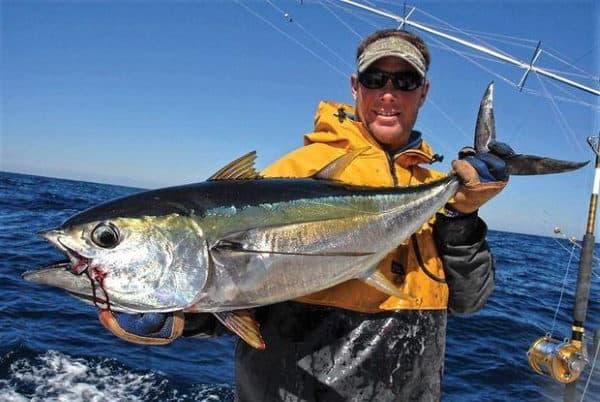 saltwater fishing tuna