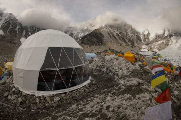 Mountain Climbing Base Camp Dome