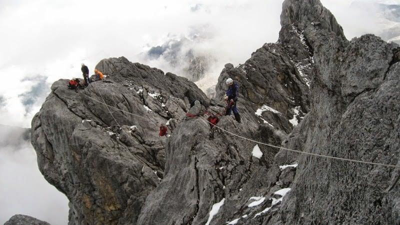 Climbing Mount Carstensz Pyramid