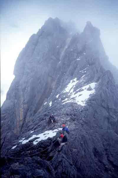 Mount Carstensz Pyramid Summit