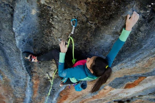 Is Rock Climbing a Sport view from above