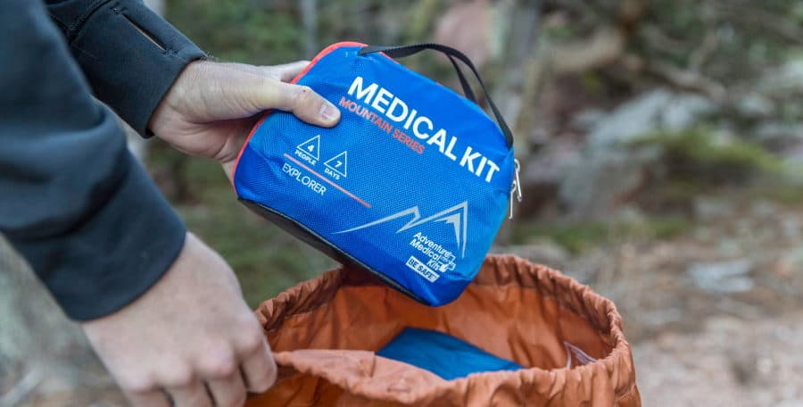 Mountain Climbing First Aid Kit